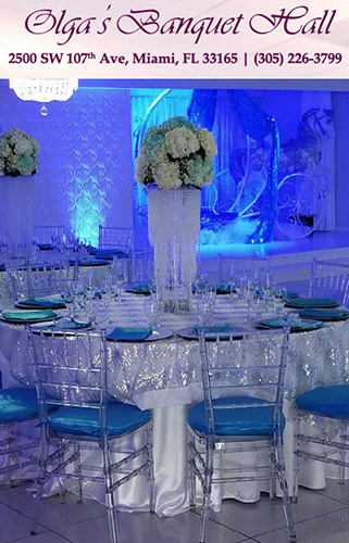 Olga Banquet Hall Miami Miami Banquet Hall Miami Wedding